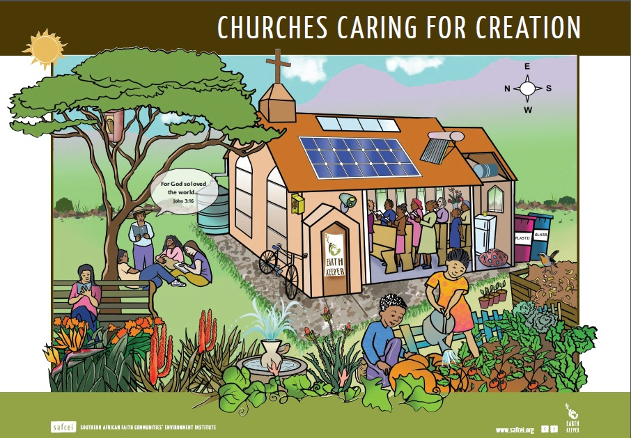 pic of Churchescaring for creation poster
