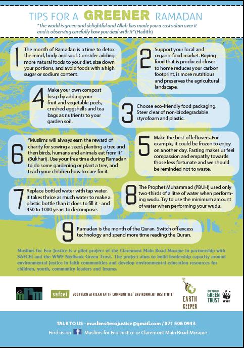 Tips for a Greener Ramadan