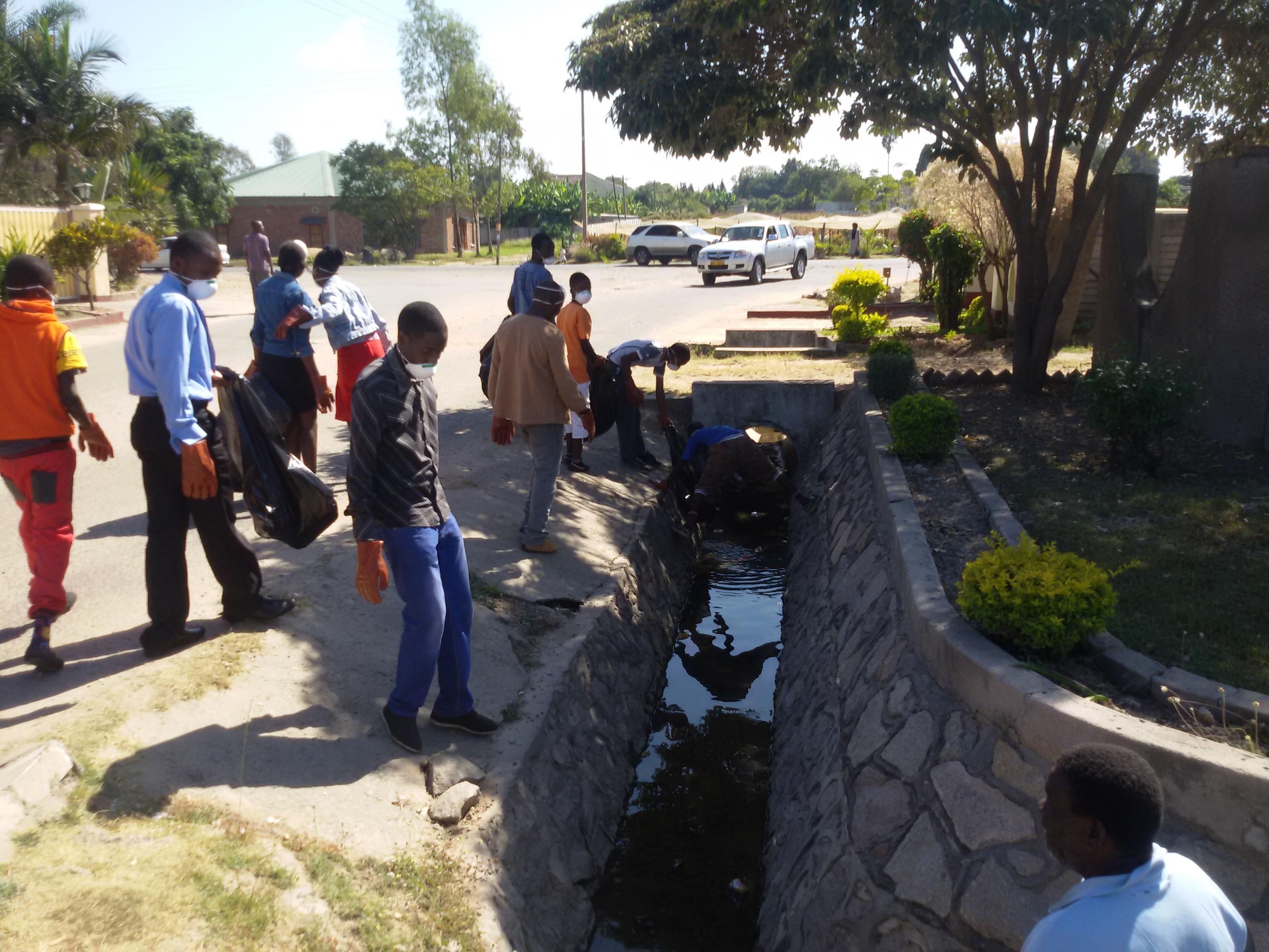 Zimbabwe clean-up 2
