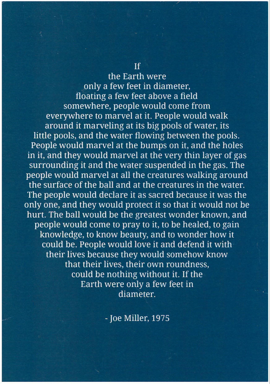 Joe Miller poem